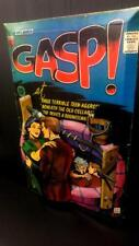 Gasp Comics #1 Cover in 3-D large 11x17