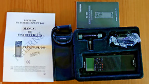NEW IN BOX - TECSUN PL-360 DSP DIGITAL WORLD BAND RADIO WITH AC ADAPTER