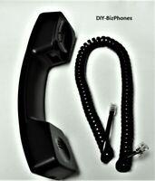 Avaya Partner Handset and Cord Euro Series 1 Phone Black 4400 4600 Magix Lucent