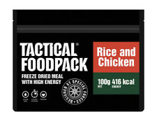 TACTICAL FOODPACK® Chicken and Rice 2er Pack 200g Hühnchen und Reis