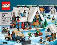 MISB LEGO HOLIDAY WINTER VILLAGE COTTAGE #10229, , VERY RARE SET, FAST SHIPPING!