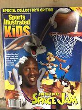 Michael Jordan Inside Space Jam Sports Illustrated For Kids NO LABEL