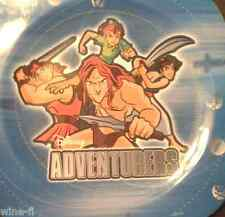 "Plate Adventurers Disney Hero Swords Planets Multi Color 8 "" Square Kids Child"