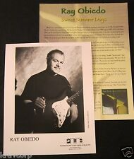 RAY OBIEDO 'SWEET SUMMER DAYS' 1997 PRESS KIT—PHOTO