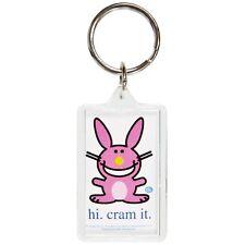 Happy Bunny - Cram It Keychain