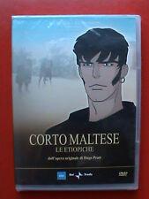 Corto Maltese Le Etiopiche Hugo Pratt dvd nuovo sigillato