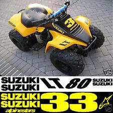 Adesivi Adatto a Suzuki Lt80 Lt50 Lt 50 80 Bambini Moto Quad