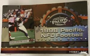 1998 Pacific Football Hobby Box Factory Sealed 36 Pack