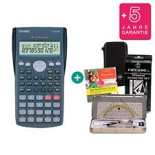 Casio FX 82 MS CALCOLATRICE + Protezione Borsa Geoset apprendimento GARANZIA CD