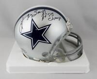 Kevin Smith Autographed Cowboys Mini Helmet w/ 3x SB Champs- Jersey Source Auth