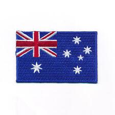 40 x 25 mm Australien Canberra Melbourne Flag Patches Aufnäher Aufbügler 0967 A