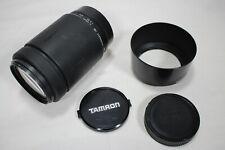 Tamron AF 172DM Telephoto Lens For Minolta SLR 70-300mm F/4.0-5.6 with Hood