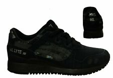 Asics Gel-Lyte III Con Cordones Zapatillas Para Mujer Running Entrenamiento Negro HN6K5 9090 U93