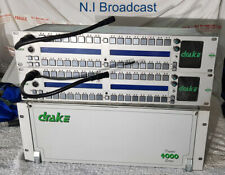 Drake 4000 digital intercom talkback system with some panels.  (16x panel suppor
