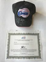 2013 - 2014 Autograph hat of the LA Clippers team with COA of LA Clippers Fdn