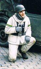 Off. Para Allemand en tenue d'hiver, WW2 - Figurine résine WOLF 1/35 Réf. WSH29