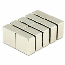 One N50 Strong Block Cuboid Magnet 20mm x 20mm x 10mm Rare Earth Neodymium