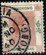 Hong Kong. 1938.  KGVI Definitive $2.  Perforated 14.  SG157.   Used.