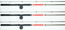Set Of 3 BnM West Point Crappie Pole Combos 2-12' And 1-10' Wpcombos B&M