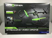 Sky Viper v2400Hd Streaming Video Drone-Auto Launch, Land, Hover New