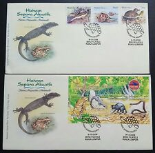2006 Malaysia Semi Aquatic Animals 3v Stamps fdc + MS fdc (KL Cachet) Best Buy