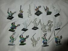 Games Workshop Warhammer Dark Elves Corsairs Regiment 16 x Marauder Army OOP