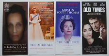 4 Theatre leaflet flyers from productions starring Kristen Scott Thomas