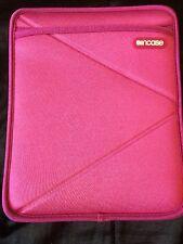 Incase Tablet case cover Slip Pink white fur lining 9 1/2 X 7 1/2 Inside