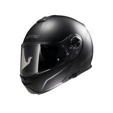 Casco de moto LS2 FF325 Strobe Talla Única: XL (61) NEGRO MATE visera plegable