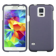 Purple Snap-On Hard Case Cover for Samsung Galaxy S5