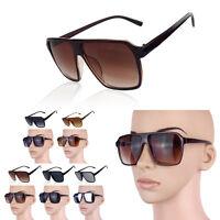 Fashion Cool Vintage Retro Big Frame Color lenses Women's Men's Sunglasses