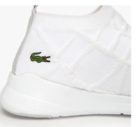 Lacoste LT FIT SOCK 319 1 Mens Textile Casual White Sneakers Shoes 38SMA0001-14X