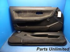 90-93 Acura Integra OEM door panels covers STOCK factory 2 door Rs black x2