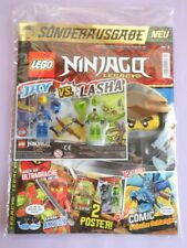neuf et sans Adoucisseur. LEGO: Ninjago Zane avec 2 Throwing Stars Split de 70673