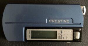 Creative MuVo TX FM 512MB MIC USB DAP-TD0004 Rare Blue