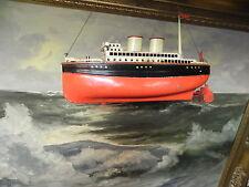 Original-gefertigt-vor-1945 Antike schiffe & u-boote