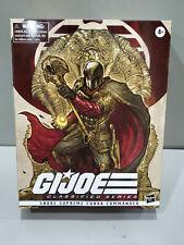 HASBRO GI JOE CLASSIFIED SNAKE SUPREME COBRA COMMANDER FIGURE #09 EXCLUSIVE.