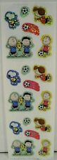 Sandylion Peanuts Snoopy Peppermint Patty Charlie Brown Lucy Soccer Stickers