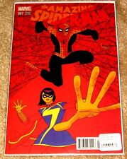 MARVEL #7 AMAZING SPIDER-MAN VARIANT 1/25 VERY HIGH GRADE FREE BAG AND BOARDED