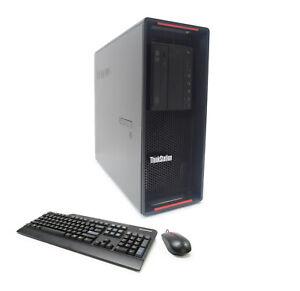 Lenovo P700 20-Core 2x E5-2650v3 2.30GHz 64GB 512GB NVMe SSD 4TB Nvidia NVS 810
