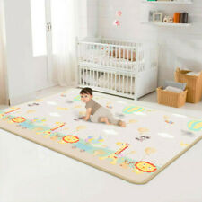 Large Foldable Baby Play Mat Children's Soft Crawling Carpet