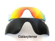 d16566db664 Galaxy Replacement Lenses For Oakley Radarlock Path Vented Sunglasses  Black Red