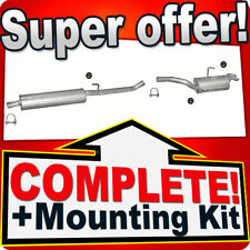 PEUGEOT EXPERT I 2.0 HDI SWB- 07.2001-04.2005 Silencer Exhaust System 121C