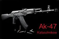 Ak 47 Kalaschnikow Letrero de Metal Placa Signo Arqueado Cartel Lata 20 X 30Cm