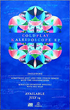 Coldplay Kaleidoscope Ep 2017 Ltd Ed Rare New Poster +Free Rock Alt Pop Poster!