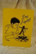 """BON APPETIT"" George Trosley Toons The FinestIn Disgusting Cartoon Entertainment"