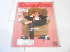 AUG 1992 ESQUIRE mens fashion magazine CANDICE BERGEN
