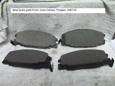 New Brake Pads Front. Isuzu Campo, Trooper, 1987-92