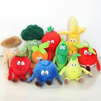 Funny Vegetables Fruit Goodness Gang Vita Mini Plush Toy Soft Stuffed Doll Gift