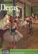 L'Opera Completa di Degas - Classici Dell'Arte Rizzoli Milano 1970
